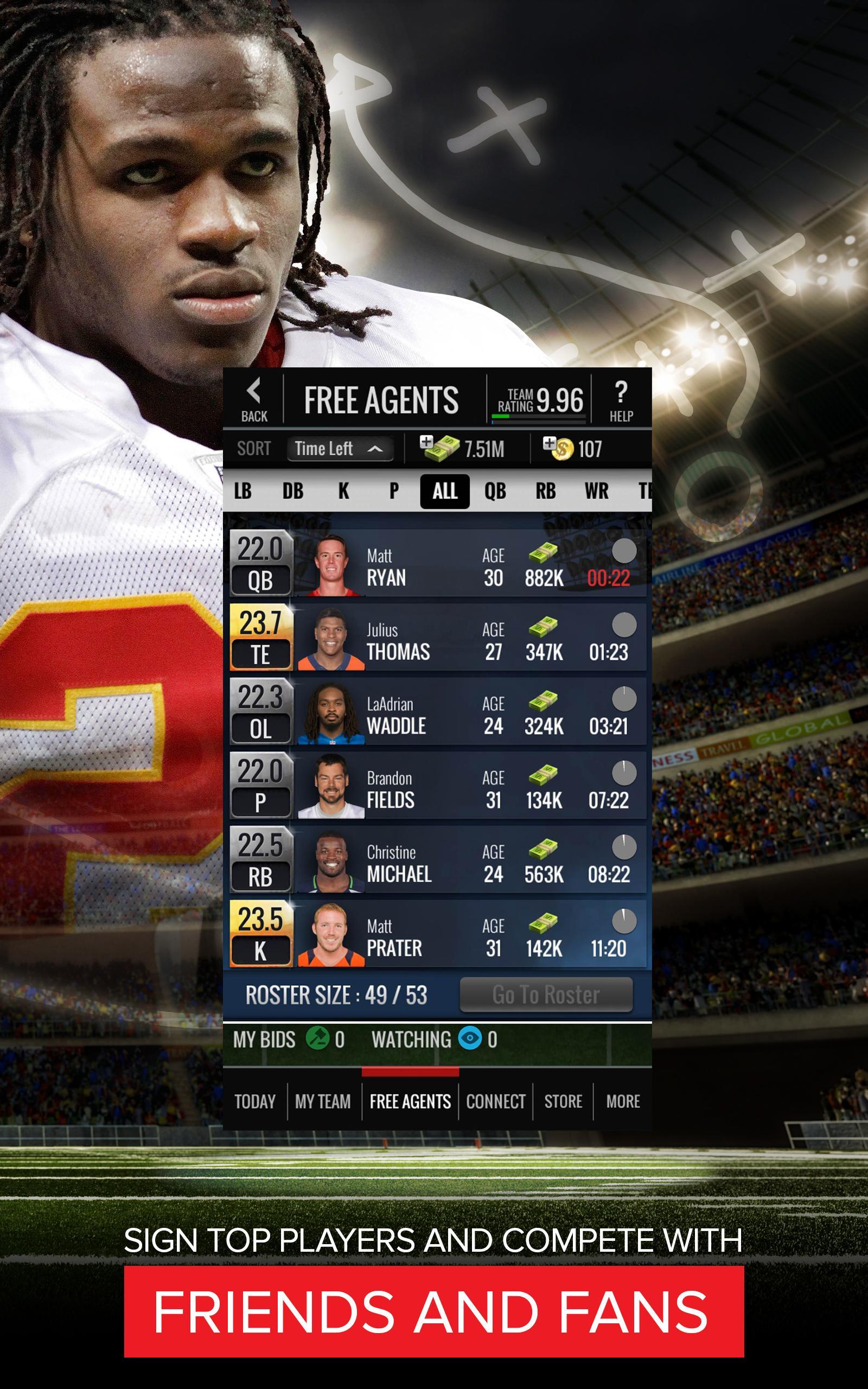 NFL Showdown: Football Manager screenshot #9