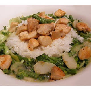 Thai Green Chicken Curry.