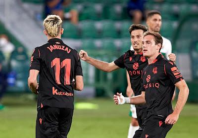 La Real Sociedad et Adnan Januzaj victorieux à Getafe