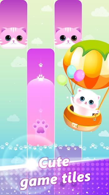Magic Piano Pink Tiles - Music Game Android App Screenshot