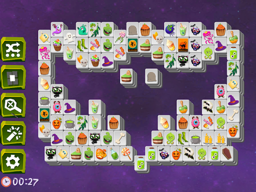 Mahjong Spooky - Monster & Halloween Tilesud83dudc7bud83dudc80ud83dude08 modavailable screenshots 11