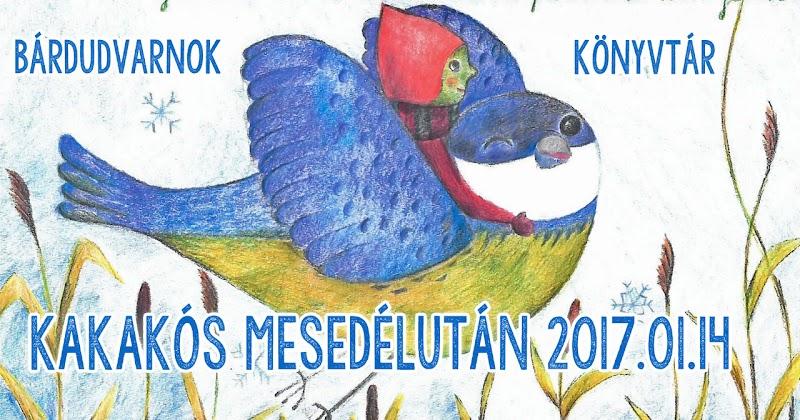 Kakaós Mesedélután a könyvtárban 2017.01.14.