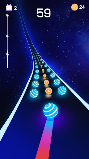 Dancing Road: Color Ball Run!  captures d'u00e9cran 2