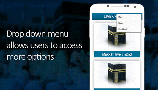 Makkah & Madina Live Streaming Screenshot