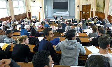Photo: Conférence n°2 : vue de la Salle