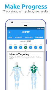 JEFIT Workout Tracker Apk – Weight Lifting, Gym Log App 4