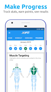 JEFIT Workout Tracker, Weight Lifting, Gym Log App – Apps on Google Play