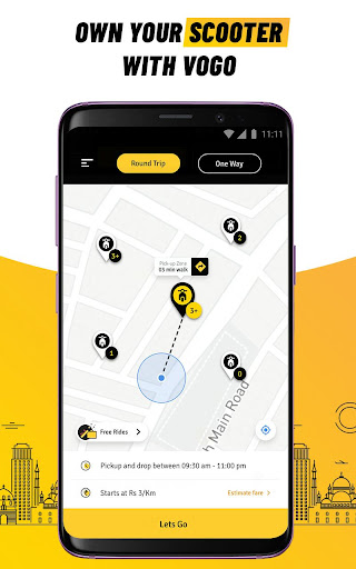 VOGO -Daily Scooter Rental App | Rent.Ride.Return. screenshots 1