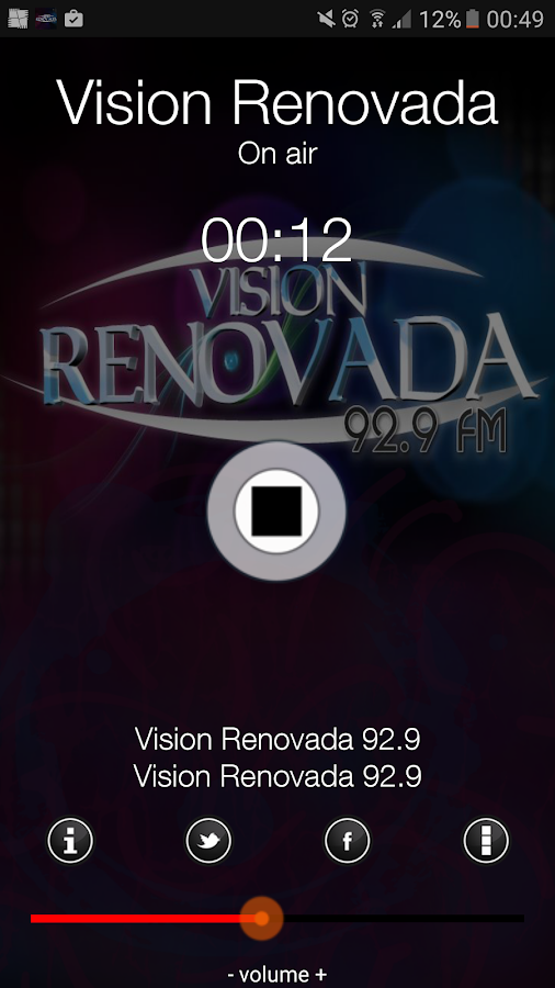 Radio Vision Renovada- screenshot