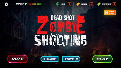 Télécharger gratuit DEAD SHOT: Zombie Shooter FPS 3D APK MOD 1