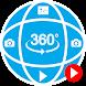 360度の写真と映画
