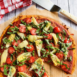Sweet Potato Pizza Crust | Vegan & Gluten-Free.