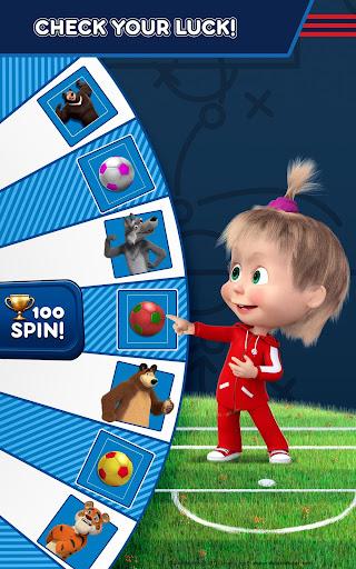 Masha and the Bear: Football Games for kids 1.3.7 screenshots 12