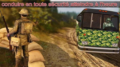 Télécharger Armée Chauffeur Militaire Soldat transport Devoir APK MOD (Astuce) screenshots 3