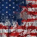live usa flag wallpaper icon