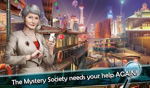 Mystery Society 2: Hidden Objects Games 2