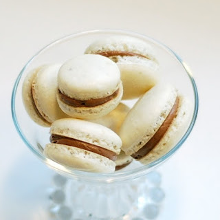 Almond Macarons with Chocolate Swiss Buttercream