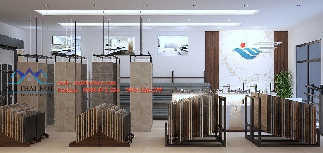 thiết kế cửa hàng thiết bị vệ sinh Phúc An 4