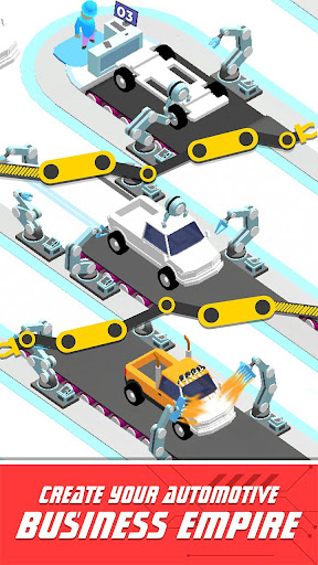 Idle Assemble Car apkpoly screenshots 1