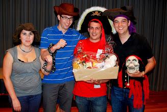 """Photo: Souveräne Sieger in der Kategorie Gäste """"Die Piraten"""""""