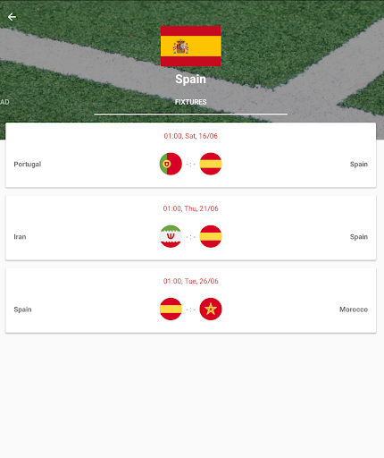 World Cup 2018 Live Scores & Fixtures 2.0.1 screenshots 15