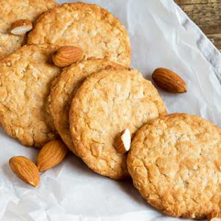 3-Ingredient Vegan Paleo Almond Butter Cookies.