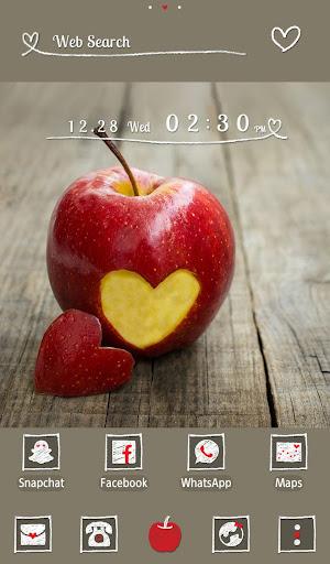 Wallpaper Heart Apple Theme 1.0.0 Windows u7528 5
