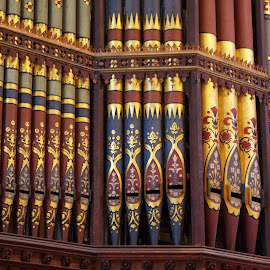 Organ Pipes by Ingrid Anderson-Riley - Artistic Objects Musical Instruments