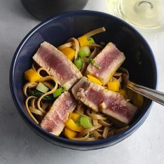 Asian Tuna Noodle Bowls.