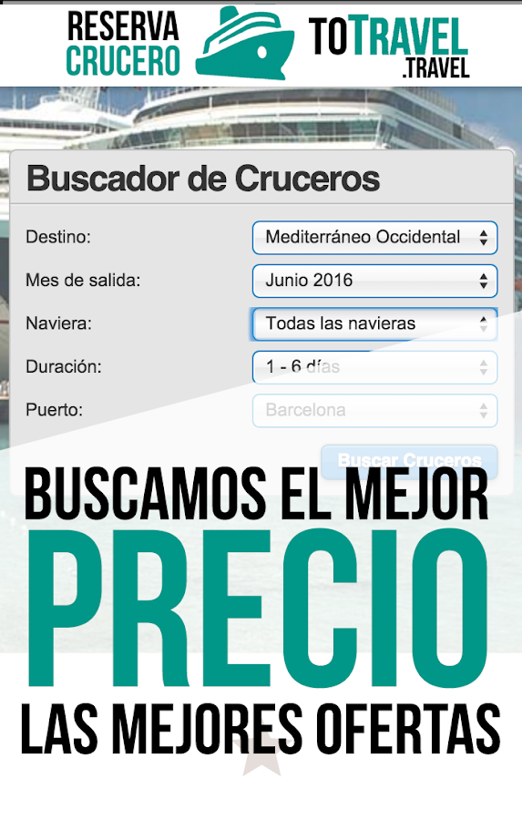 Ofertas Cruceros - Chollos 2x1- screenshot