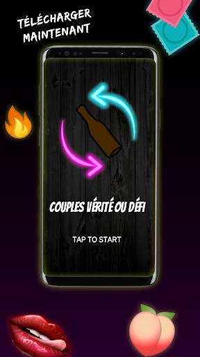 Code Triche Couples vu00e9ritu00e9 ou du00e9fi : bouteille APK MOD screenshots 4