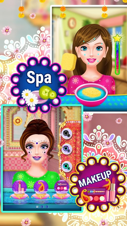Indian Wedding Dress up & Makeover- screenshot
