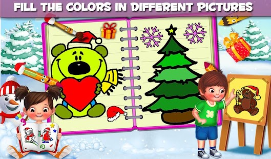 Kids Coloring Book For Christmas - náhled
