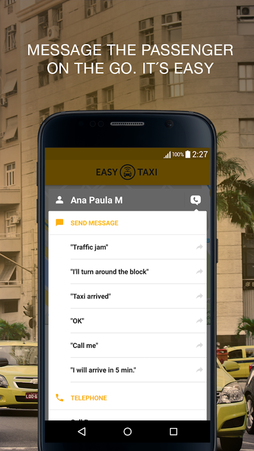 Easy Taxi - For Drivers- screenshot