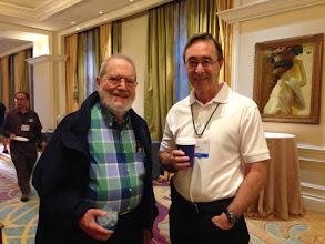 Photo: Dr. Silberman and Dr. Jones