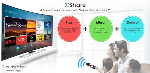 CShare (CloudTV Remote) on Windows PC Download Free - v1.8 -  com.cloudwalker.cshare