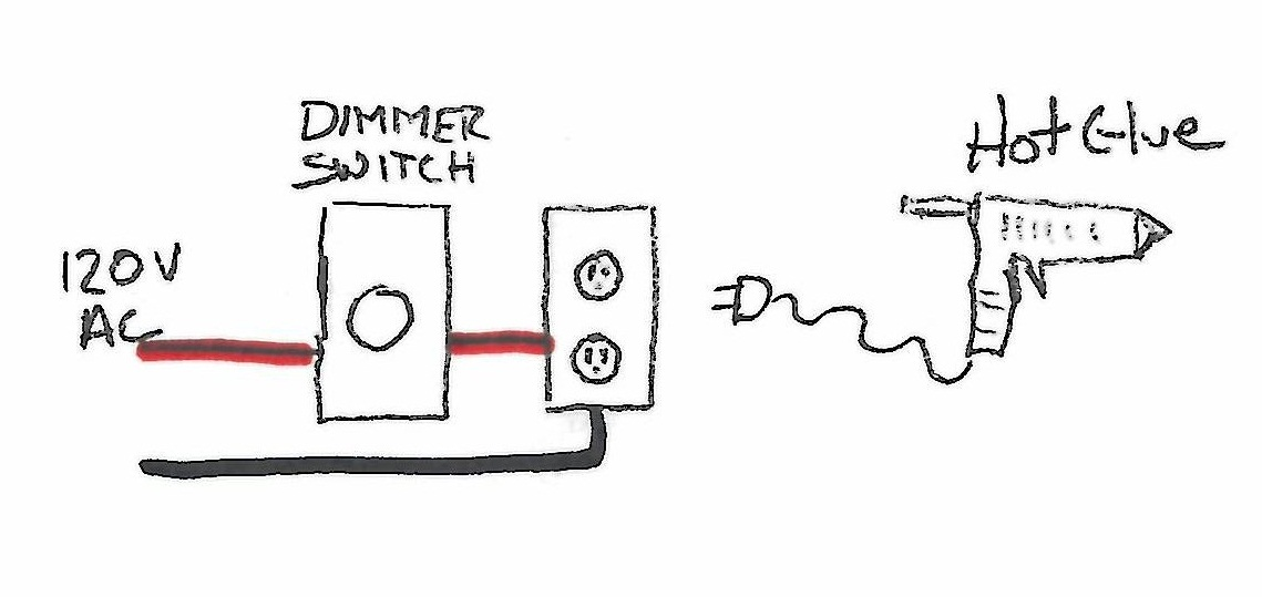 dial dimmer switch wiring diagram