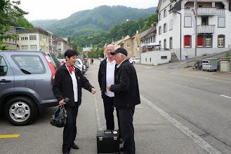 Photo: Ankunft der Musikanten