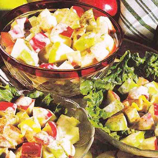 Honey Apple Salad.