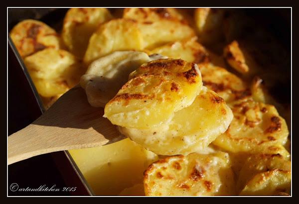 Low-fat Scalloped Potatoes Recipe