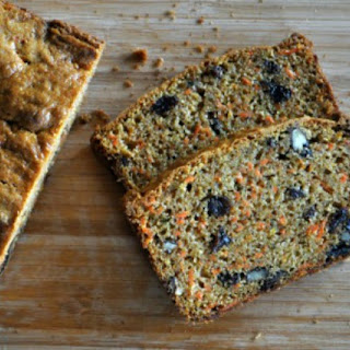Carrot Bread with Raisins and Pecans.