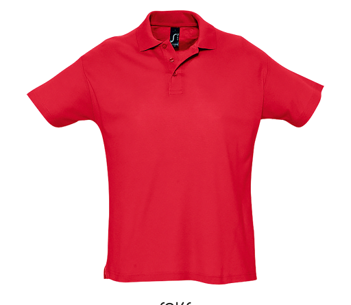 polo shirt rouge
