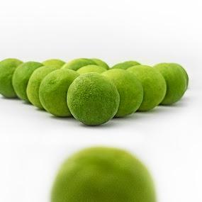 if life gives you lemons ... playing pool by Warren Chirinos Pinedo - Food & Drink Fruits & Vegetables ( playing, billard, acid, pool, green, fun, ads, lemon )