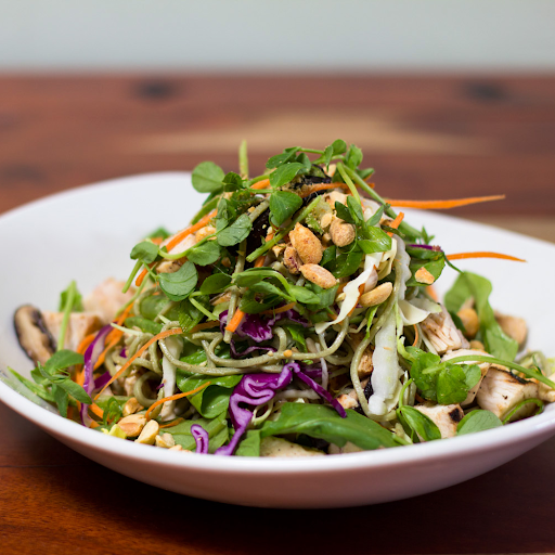 Chili Shrimp Soba Noodle Salad