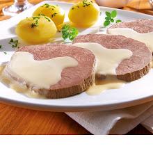 Abbildung Rindfleisch in Meerrettich