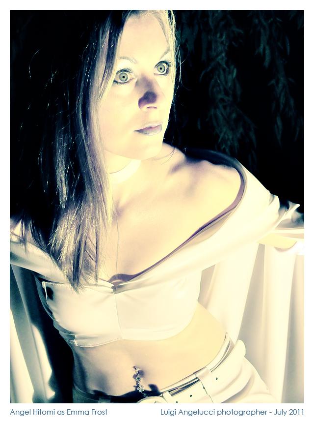 "Photo: Angel Hitomi as Emma Frost - ""X Man"" comics - Luigi Angelucci photographer - July 2011"