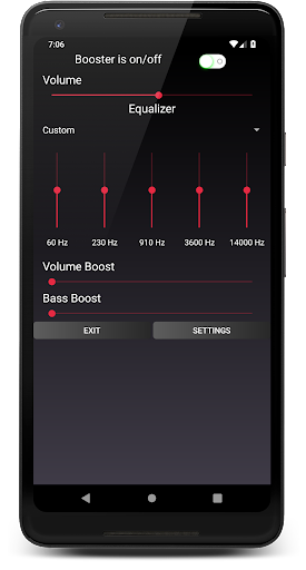 Speaker Booster with Bass Booster and Equalizer 3.1 screenshots 1