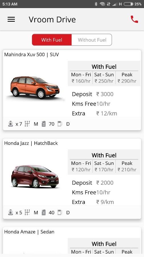 Vroom Car Rental