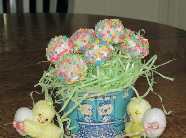 Easter Cake Pops Recipe