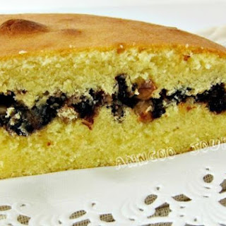 Prune Walnut Cake